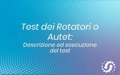 Test dei rotatori: descrizione ed esecuzione del test