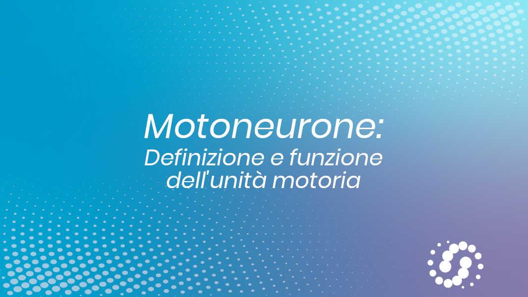 Motoneurone e unita motoria
