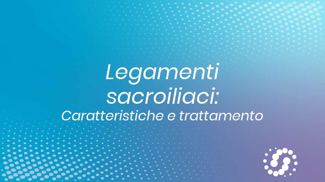 Legamenti sacroiliaci trattamento