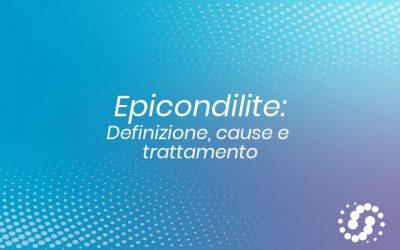 Epicondilite: definizione, cause e possibili trattamenti