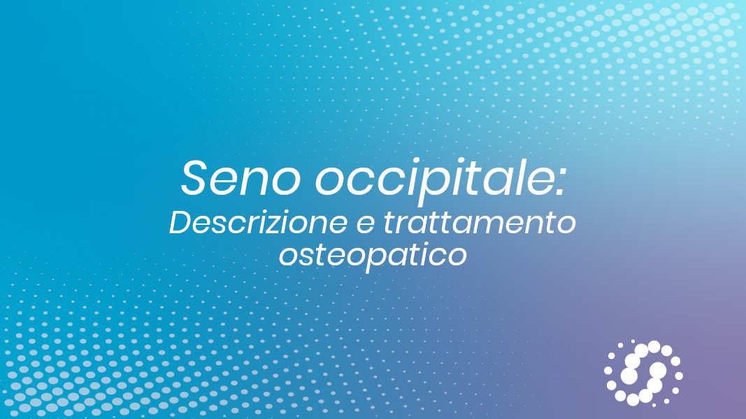 Seno occipitale trattamento