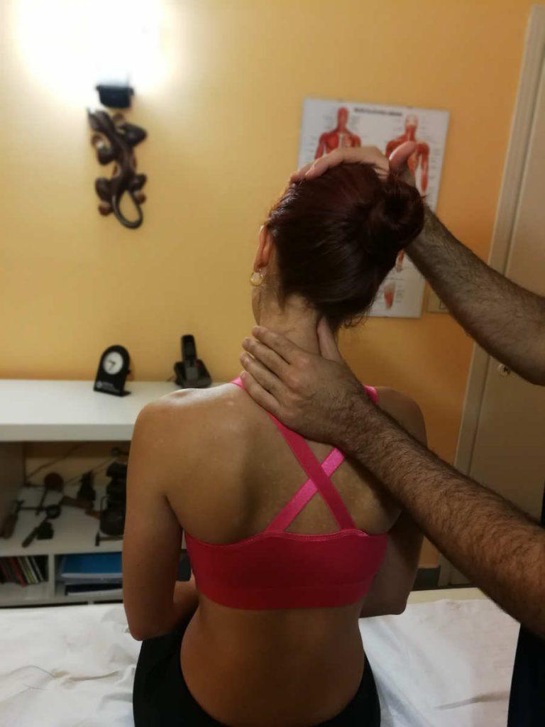 valutazione colonna vertebrale