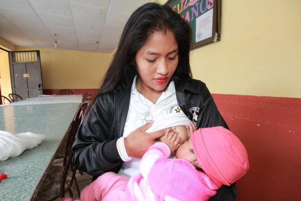 Produzione di ossitocina con l'allattamento