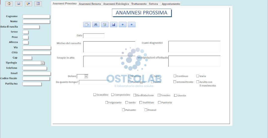 Anamnesi osteopatica